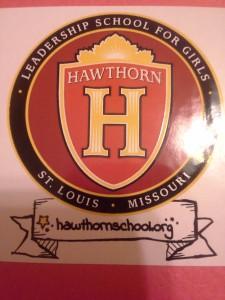 Hawthorn Leadership School for Girls crest