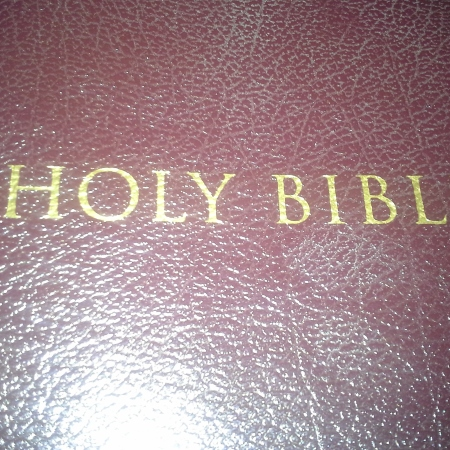Picture of a bible cover