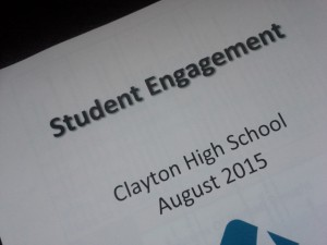 Packet of student engagement strategies for a professional development day