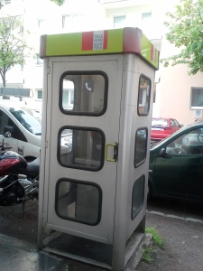 Telephone booth in Vienna