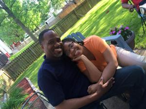 Chris and me on Memorial Day 2015 Photography by Tiffany Johnson Cade
