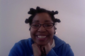 Roshaunda with bantu knots
