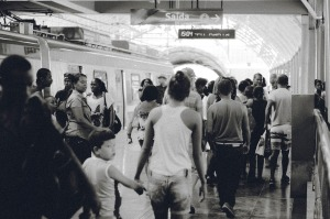 Many people at a crowded subway station.  Image on Pixabay by Unsplash at https://pixabay.com/en/train-station-transportation-people-691176/