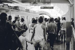 Many people at a crowded subway station.  Image on Pixabay by Unsplash at https://pixabay.com/en/train-station-transportation-people-691176/