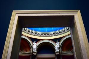 Doorway at an art museum by samara34 on Pixabay at https://pixabay.com/en/art-door-museum-architecture-738371/