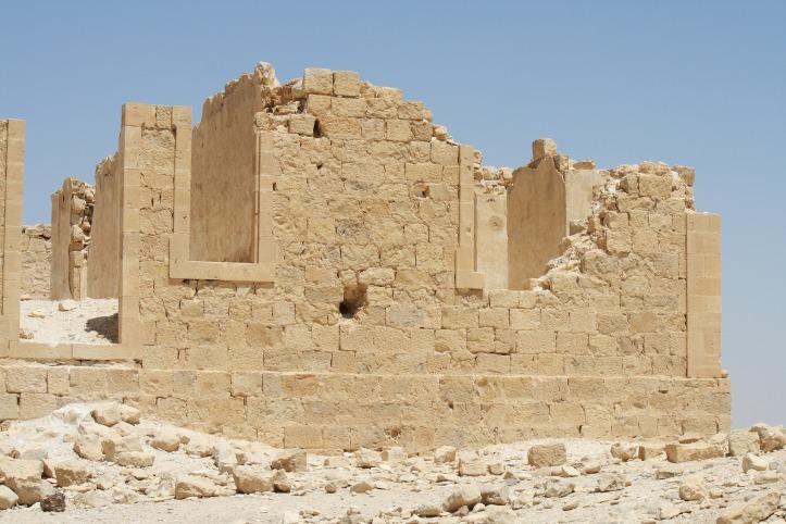Israel ruin building