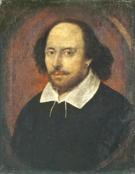 Shakespeare by WikiImages on Pixabay at https://pixabay.com/en/shakespeare-poet-writer-author-67698/