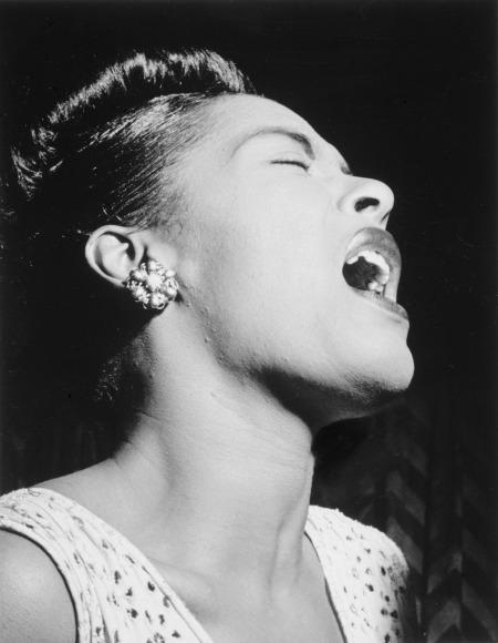 Billie Holiday by FotoshopTofs on Pixabay at https://pixabay.com/en/billie-holiday-1947-portrait-1281326/