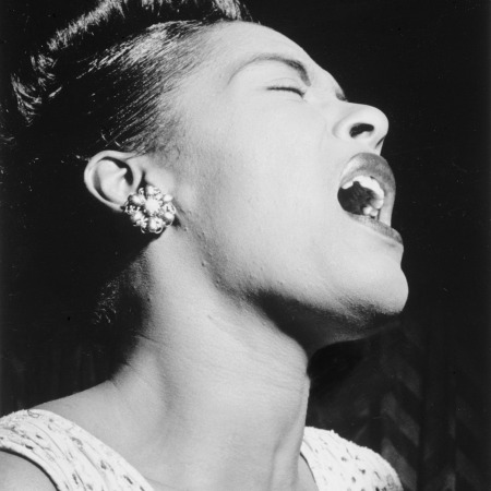Billie Holiday by FotoshopTofs on Pixabay at https://pixabay.com/en/billie-holiday-1947-portrait-1281326/