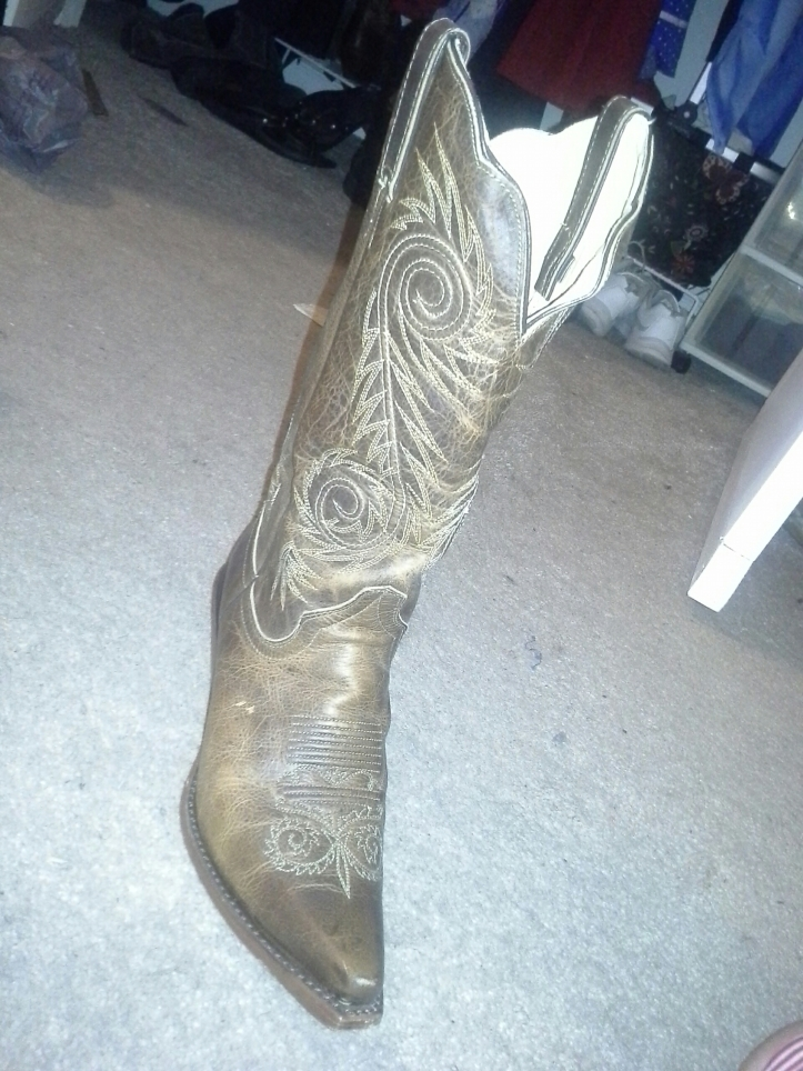 Roshaunda's cowboy boot