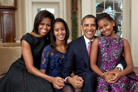 Obama First Family Portrait by janeb13 on Pixabay at https://pixabay.com/en/official-portrait-obama-family-2011-1174537/