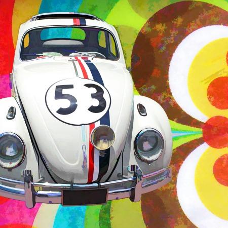 Herbie the Love Bug by InspiredImages on Pixabay at https://pixabay.com/en/volkswagen-beetle-art-car-vehicle-1377320/