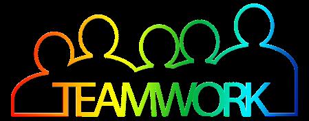 Teamwork by geralt on Pixabay at https://pixabay.com/en/teamwork-team-personal-group-2188039/