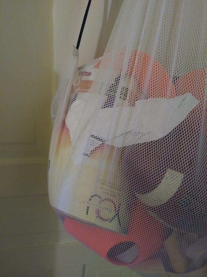 Chris' coach bag