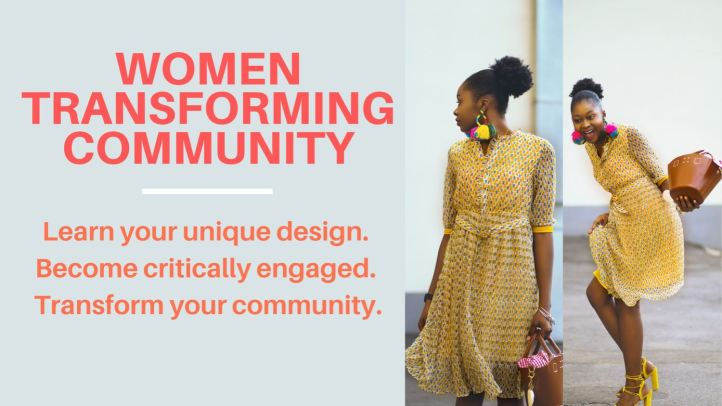 Women Transforming Community Banner
